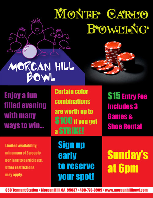 Morgan Hill Bowl - Specials